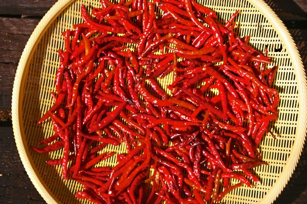 Envoyer photo de Dried chilies de Thailande comme carte postale électronique
