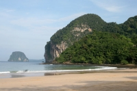 Foto van Beach in Phang Nga bay - Thailand