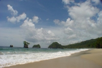 Photo de Beach in Paria Bay - Trinidad & Tobago