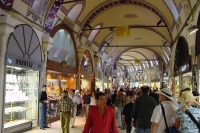 Photo de Shops in the Grand Bazaar - Turkey
