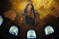 Picture of Interior of Aya Sofia - Turkey