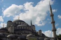 Photo de The Blue Mosque in Istanbul - Turkey