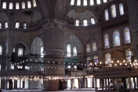 Photo de Inside the Blue Mosque - Turkey