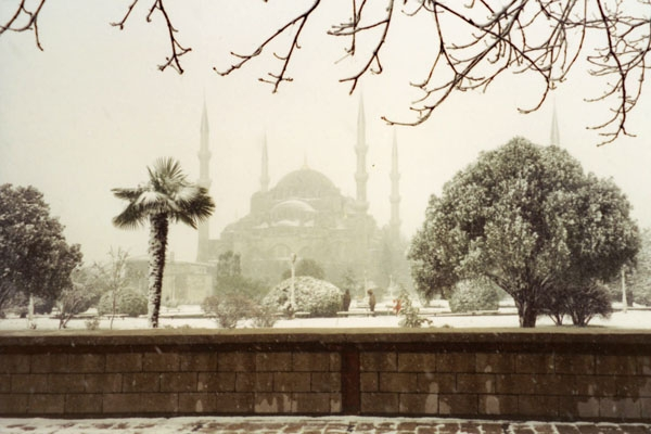 Spedire foto di Winter in Istanbul di Turchia come cartolina postale elettronica