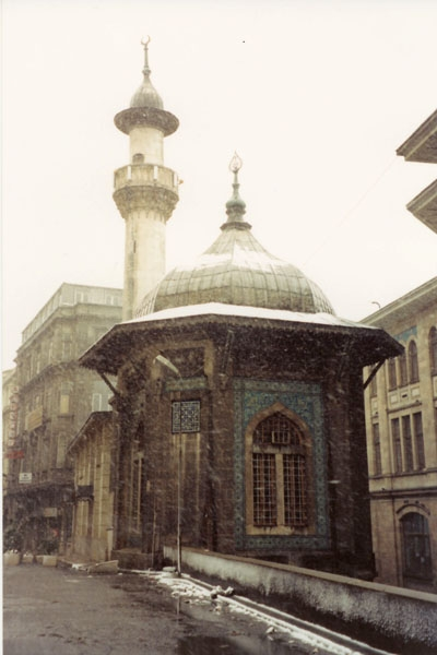 Send picture of Snow in Istanbul from Turkey as a free postcard