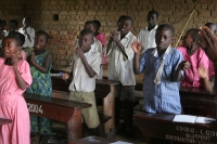 Foto van Singing plays a big part in Ugandan education - Uganda