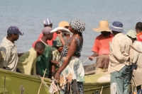 Foto van Fishermen at Lake Edward - Uganda