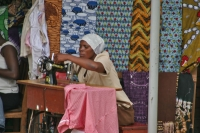 Foto van Seamstress in western Uganda - Uganda