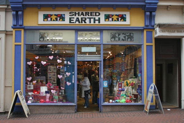 Send picture of Shop in Birmingham from United Kingdom as a free postcard