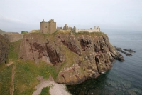 Foto van Dunnottar Castle in Scotland - United Kingdom