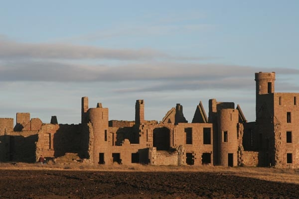 Send picture of Slains Castle, Scotland from United Kingdom as a free postcard