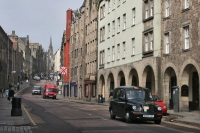 Foto van Street in Edinburgh - United Kingdom