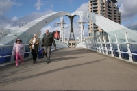 Foto de Bridge in Manchester - United Kingdom