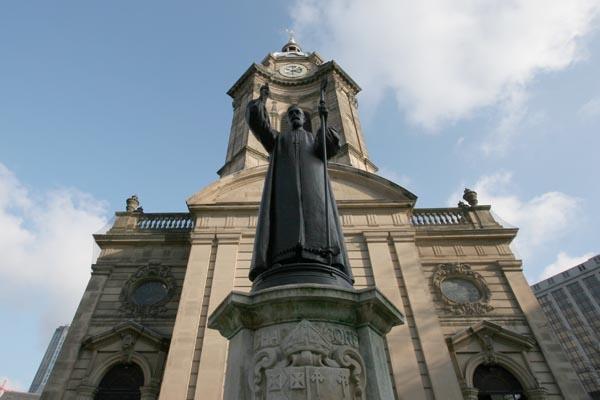 Spedire foto di St. Philips Cathedral in Birmingham di Regno Unito come cartolina postale elettronica