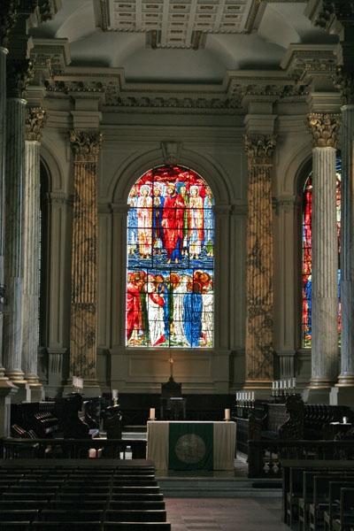 Spedire foto di Interior of St. Philip's Cathedral in Birmingham di Regno Unito come cartolina postale elettronica