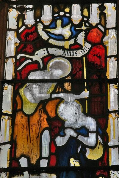 Spedire foto di Window of a church in Edinburgh di Regno Unito come cartolina postale elettronica
