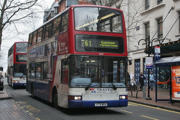 Send picture of A Birmingham bus from United Kingdom as a free postcard