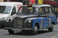 Foto van Taxi in Birmingham - United Kingdom
