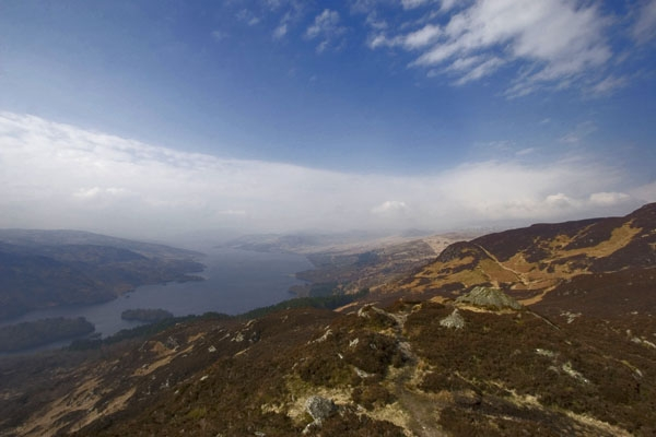 Send picture of Nature in the Scottish highlands near Edinburgh from United Kingdom as a free postcard