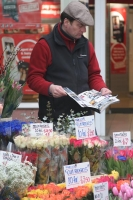 Foto van Flower seller - United Kingdom