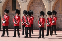 Foto van Guards at Windsor Castle - United Kingdom