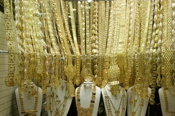 Spedire foto di Gold shop in Dubai di Emirati Arabi Uniti come cartolina postale elettronica