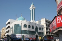 Foto van Modern mosque in Dubai - United Arab Emirates