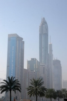Foto di Modern building on  Sheikh Zayed Road in Dubai - United Arab Emirates