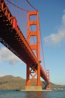 Foto van The Golden Gate bridge in San Francisco - U.S.A.