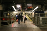Foto de Platform at the Grand Central Station in New York - U.S.A.