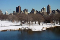 Foto van New York's Central Park in the snow - U.S.A.