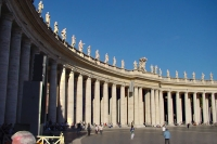 Picture of Colonnade on St. Peter's square in Vatican City - Vatican City