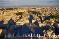 Picture of View over St. Peter's square from the cathedral - Vatican City
