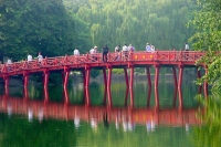 Foto di Bridge in Hanoi - Vietnam
