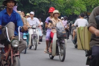 Photo de Traffic in Hanoi - Vietnam