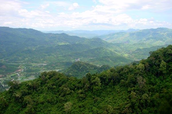 Envoyer photo de Central Highlands landscape de Vietnam comme carte postale électronique