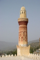 Foto van Mosque of Queen Arwa in Jibla - Yemen