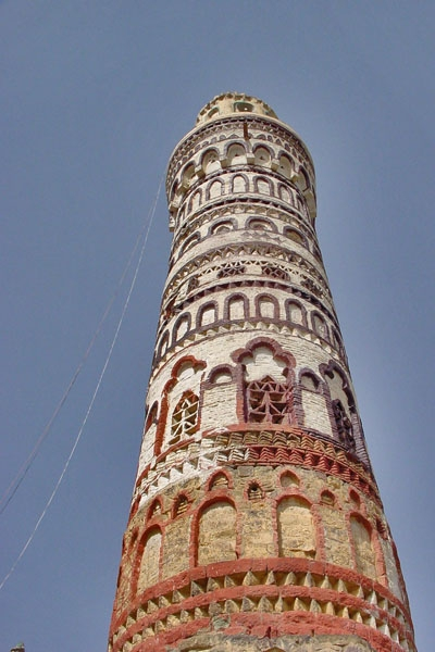 Envoyer photo de Minaret in Jibla de Ymen comme carte postale &eacute;lectronique