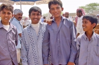 Foto van Young Yemeni men - Yemen