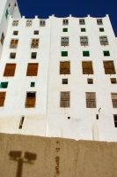 Photo de Close-up of a Shibam skyscraper - Yemen