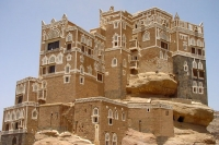 Foto van Rock palace in Wadi Dar - Yemen