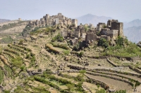 Foto van Village in the Haraz mountains - Yemen