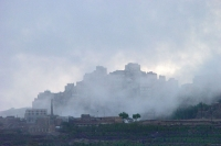 Foto van Fog in the Haraz mountains - Yemen