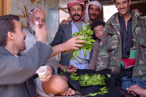 Send picture of Qat is big business in Yemen from Yemen as a free postcard
