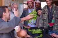Foto van Qat is big business in Yemen - Yemen