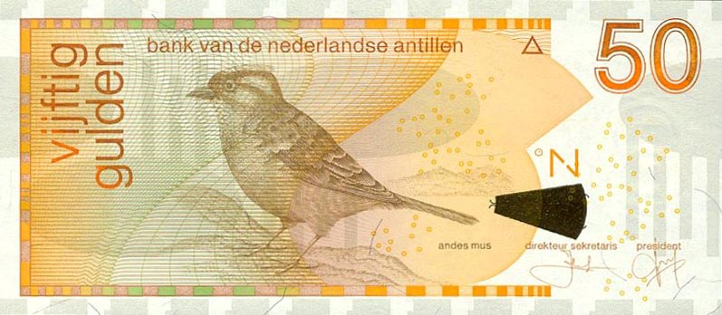 Image of money from Netherlands Antilles