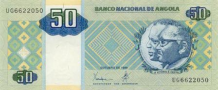 Image of money from Angola