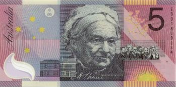 Image of money from Australia