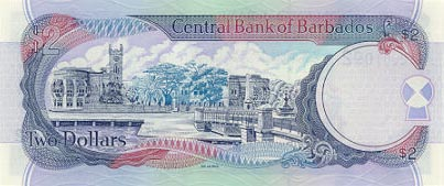 Image of money from Barbados