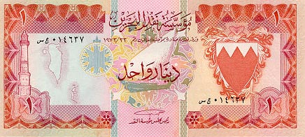 Image of money from Bahrain